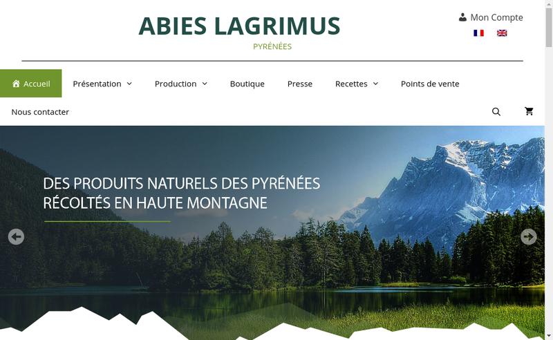 Site internet de Abies Lagrimus