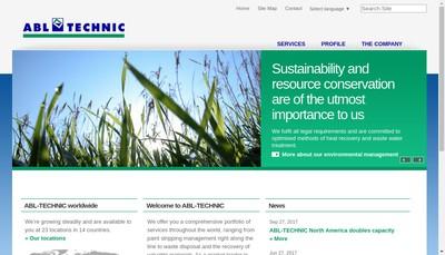 Site internet de Abl Technic