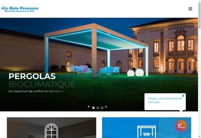 Site internet de Alu Baie Provence
