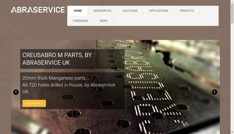 Capture d'écran du site de Abraservice Lyon