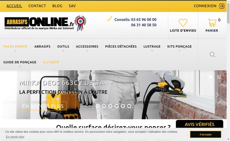Capture d'écran du site de 2Im Formation
