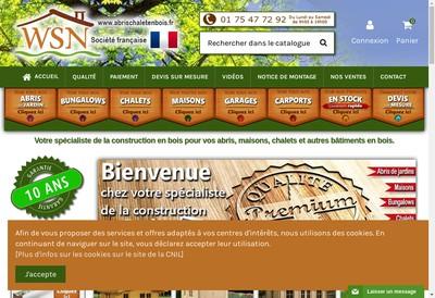 Site internet de Abrischaletenbois