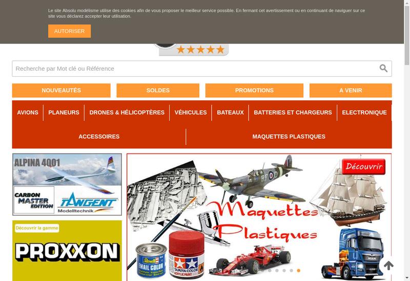 Capture d'écran du site de A+Metrologie