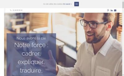Site internet de Advice Business & Training