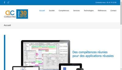 Site internet de A & C Consulting