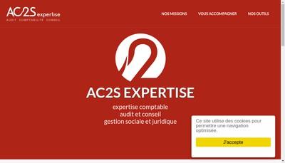 Site internet de Ac2S Expertise