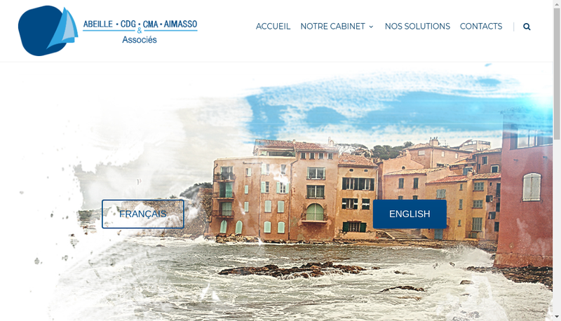 Capture d'écran du site de Cabinet Michel Aimasso et Associes