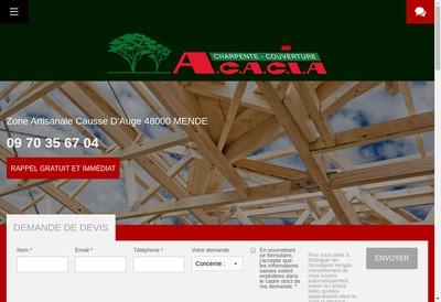 Site internet de Acacia