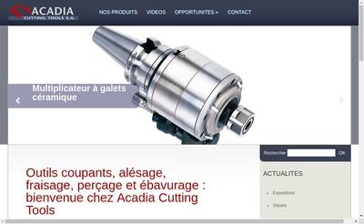 Site internet de Acadia Gestion