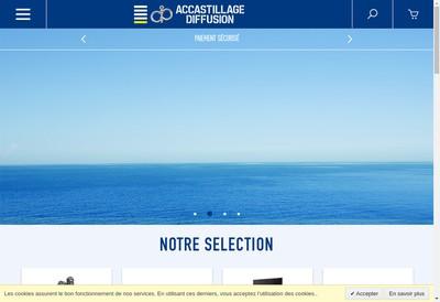 Site internet de Accastillage Diffusion