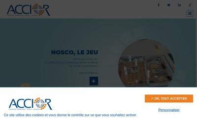 Site internet de Accior & Associes