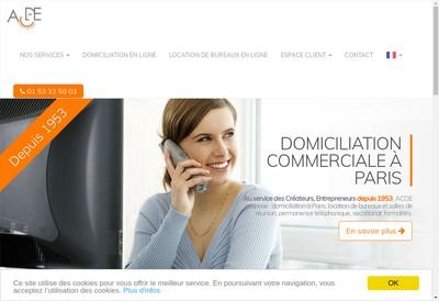 Site internet de Allo Publiphone et ACDE