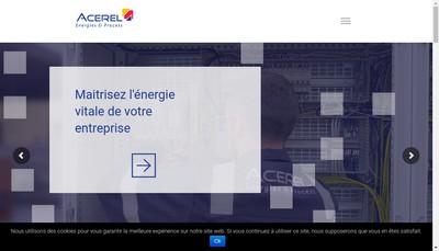 Site internet de Atelier Constr Etudes Realisa Electr