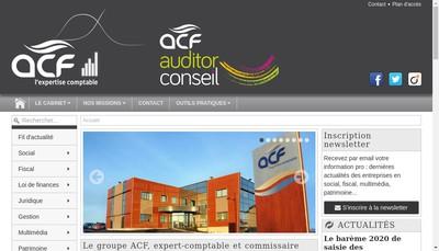 Site internet de ACF Aurillac