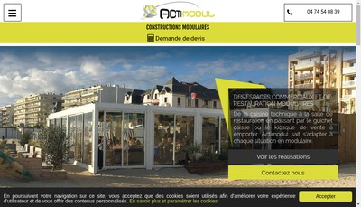 Site internet de Actimodul