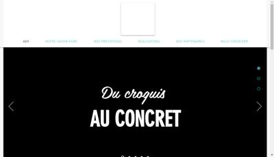 Capture d'écran du site de AD9