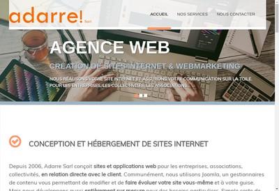 Site internet de Adarre