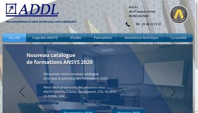 Site internet de ADDL