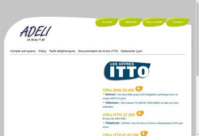 Site internet de Adeli
