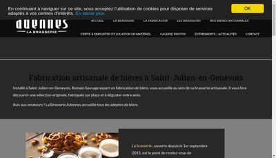 Site internet de Adennes