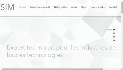 Site internet de Adesim