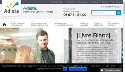 Site internet de Realisations Microelectronique et Informatiques - Rmi