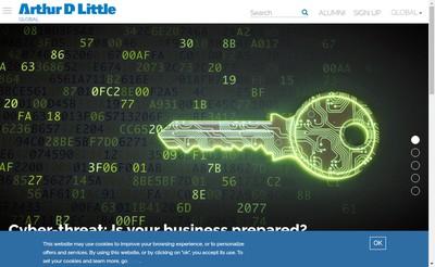 Site internet de Arthur D Little
