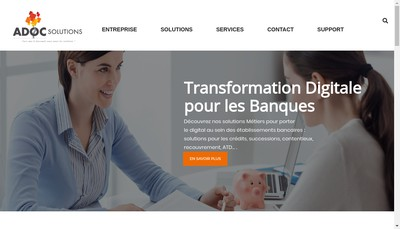 Site internet de Doc Solutions Az Solutions