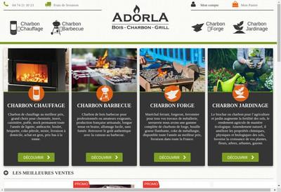 Site internet de Adorla Com