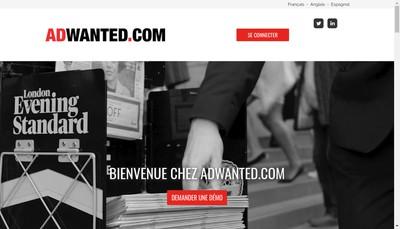 Site internet de Adwanted Group SAS