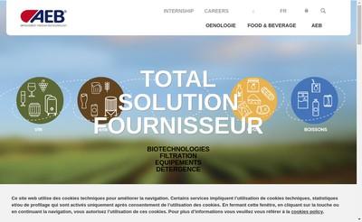 Site internet de AEB France