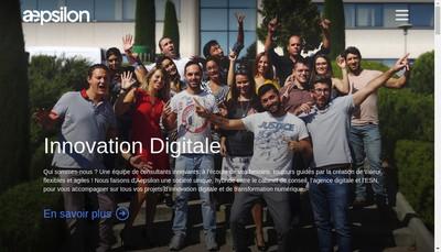 Site internet de Aepsilon