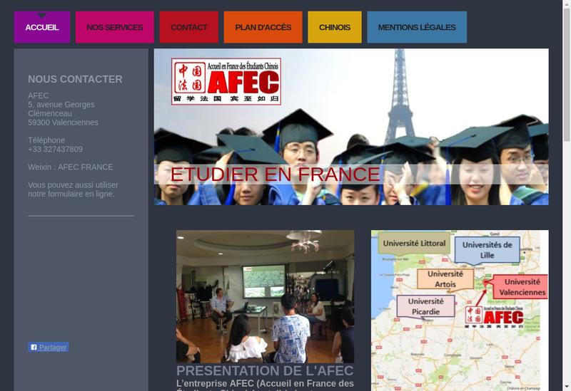 Capture d'écran du site de Mankoufu