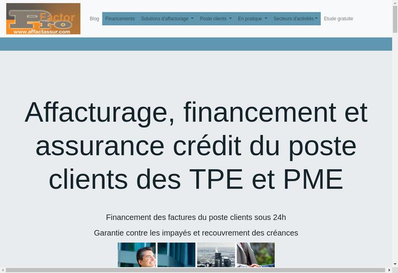 Capture d'écran du site de Insurance-Credit