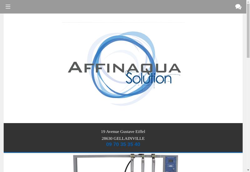Capture d'écran du site de Industrial Water Solutions