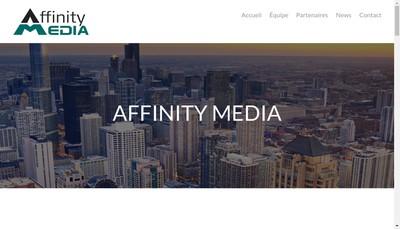 Site internet de Affinity Media