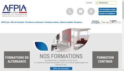 Site internet de Association pour la Formation Professionnelle Dans les Industries de l'Ameublement Lyon