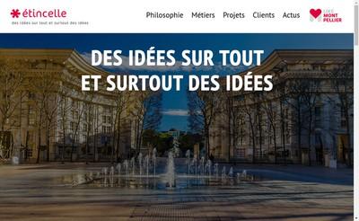 Site internet de L'Indic Espace-Etudiant Immofac Gala-Etu
