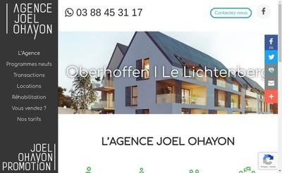 Site internet de Agence Joel Ohayon