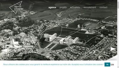 Site internet de Agence Schneider Architectes Urbanistes Associes