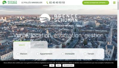 Site internet de Agence Schuman