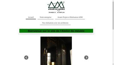 Site internet de Atelier du Meuble