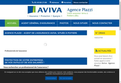 Site internet de P2A
