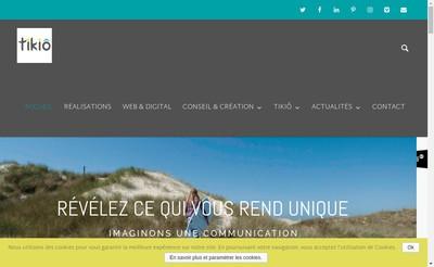 Site internet de Tikio