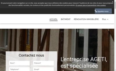 Site internet de Ageti