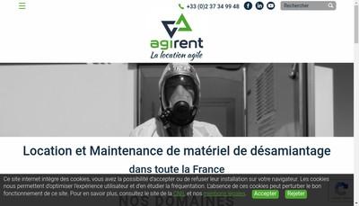 Site internet de Agi Rent