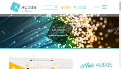 Site internet de Agixis
