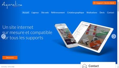 Site internet de Agoraline