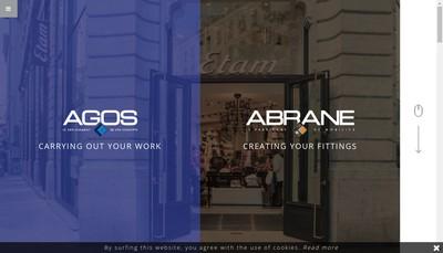 Site internet de Abrane France