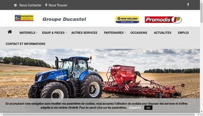 Site internet de Ducastel